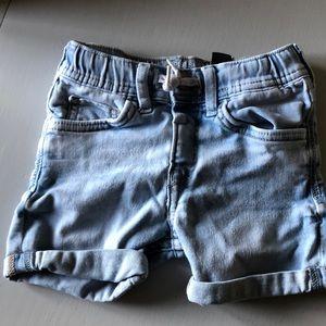 H&M denim shorts 2 to 3 years